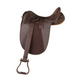 Kimberley Synthetic Stock Saddle Pkg Brown 19in W