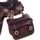 Australian Outrider Collection Saddle Pocket Brown