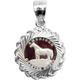 Kelly Herd Quarter Horse Pendant