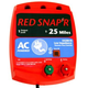 Red Snap'r 25 Mile AC Low Impedance Fence Charger
