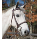 Shires Plain Houston Bridle Oversize Oakbark