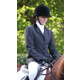 Shires Ladies Velvet Trimmed Show Jacket 18 Navy