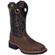 John Deere Mens Western Sq Toe Pull-On 13M Tan