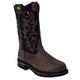 John Deere Mens 11in Western Work Boots 13M Blk
