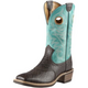 Ariat Mens Heritage Roughstock WST Boot 12EE Org