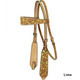 Turn-Two Mesquite Canyon Floral Inlay Headstall Tu