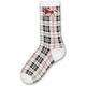 Plaid Horse Ladies Socks