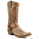 Roper Ladies Americana Eagle Boot 11 Brown