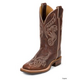 Justin Ladies Bent Rail Damiana Boots 12W Tan