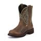 Justin Ladies Gypsy Rnd Toe 8in Jaguar Boots 11