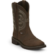 Justin Ladies Gypsy Sq Toe 11in Aged Boots 11