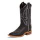 Justin Ladies Bent Rail 11in Black Boots 12W