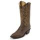 Justin Mens Distressed Vintage Goat Boots 11.5D