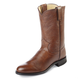 Justin Mens Roper 10in Leather Boots 13EE Tan