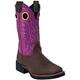John Deere Ladies Western Square Toe Boots 9.5 TUR