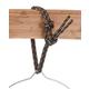 Mountain Rope Bucket Hanger Purple