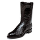 Justin Mens Roper Full Quill 10in Blk Boots 13EE