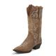 Justin Ladies Stampede 12in Tan Puma Boots 11W