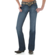 Wrangler Ladies Mae Booty Up MT Wash Jeans 13x32