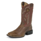 Tony Lama Mens 3R Stockman Dark Tan Boots 13EE
