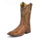 Tony Lama Mens San Saba Smooth Ost Boots 13EE
