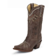 Tony Lama Ladies Vaquero Choc Rancho Boots 10