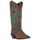 Laredo Ladies Miss Kate Western Boots 10 Teal