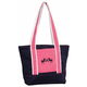 Equine Couture Dillon Tote Bag Navy/Hot Pink