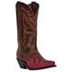 Laredo Ladies Cullison Western Boots 10 Tan