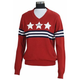 Equine Couture Ladies Star/Stripe Sweater XL Red