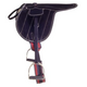 Silver Fox Suede Exercise Saddle
