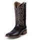 Nocona Mens Gentlemen Ranch Hand Black Boot 13EE