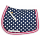 Equine Couture Emma Saddle Pad Blue/Navy