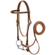 Weaver Browband Bridle w/Double Buckle Cheeks