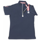 Equine Couture Star/Stripe Ladies S/S Polo 3X Whit