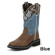 Justin Ladies Gypsy Wide Sq Toe 11in Boot