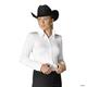 Hobby Horse Ladies Lana Blouse 3X Aubergine