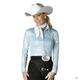 Hobby Horse Ladies Reindance Blouse 3X White