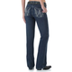 Wrangler Q-Baby Booty Up Medium Wash Jeans 13x34