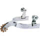 Weaver CP Childrens Spurs with Engraved Band