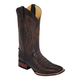 Ferrini Mens Caiman Crocodile Sq Choc Boots 11EE
