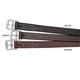 Stubben Cowhide Stirrup Leathers 47 x 3/4 Ebony