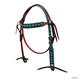 Turn-Two Chasing Wild Browband Headstall Pink