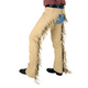 Tough-1 Synthetic Suede Western Show Chaps X-Large