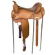 Circle P Leather Trail Saddle 17in