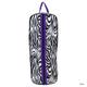 Lami-Cell Zebra Bridle Bag Teal