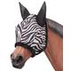 Tough-1 Zebra Mesh Fly Mask Purple Zebra