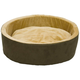KH Mfg Thermo-Kitty Cuddle Up Mocha Heated Cat Bed