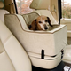 Luxury Console Pet Car Seat Xlarge Pink/Pink