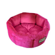Armarkat Cozy Pink Velvet Pet Bed